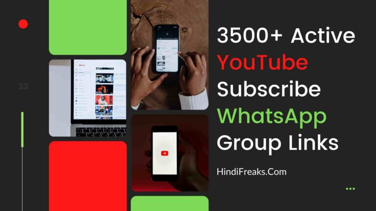 YouTube-Subscribe-WhatsApp-Group-Links