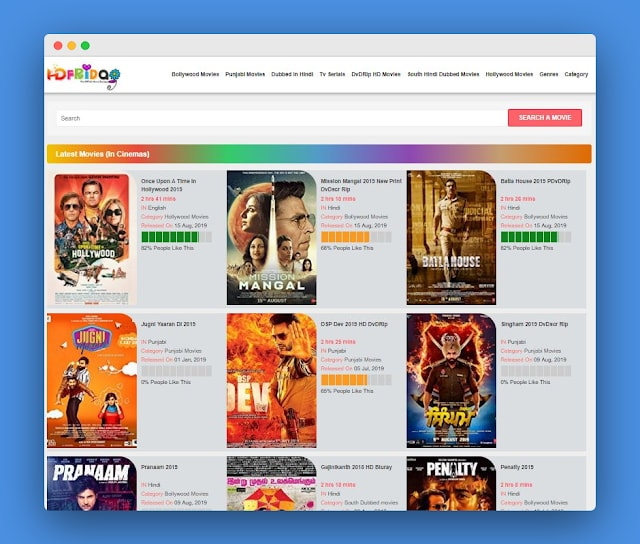 Hdfriday 2020 Download Latest Bollywood Movies FREE!