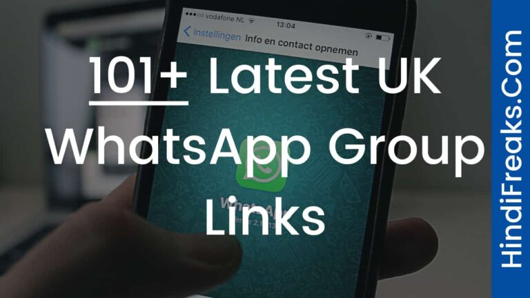 Latest UK WhatsApp Group Links