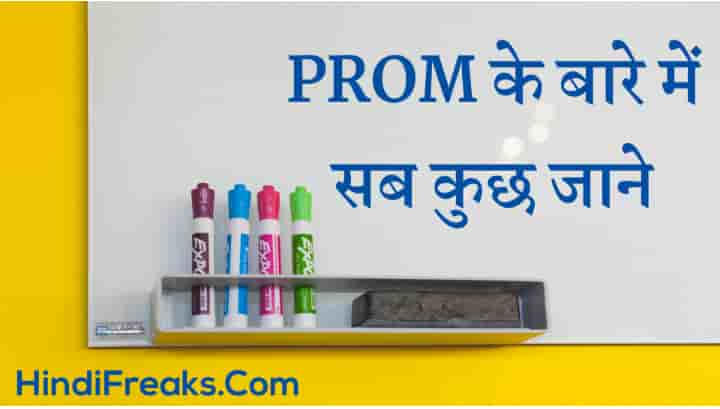 PROM Kya Hai Meaning of PROM in Hindi