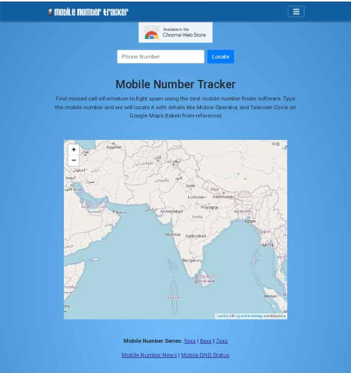 MobileNumberTracker.Com-Bhartiya Mobile Number Tracking