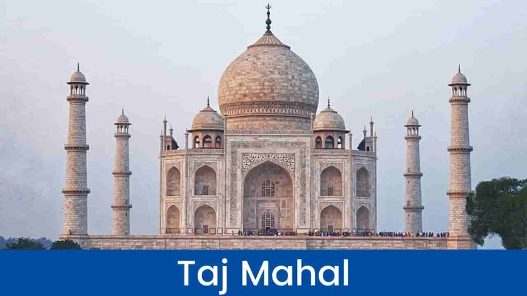 Taj Mahal History in Hindi