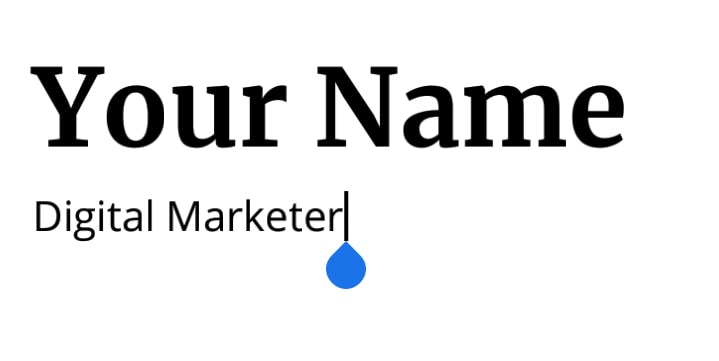 Resume Your Name